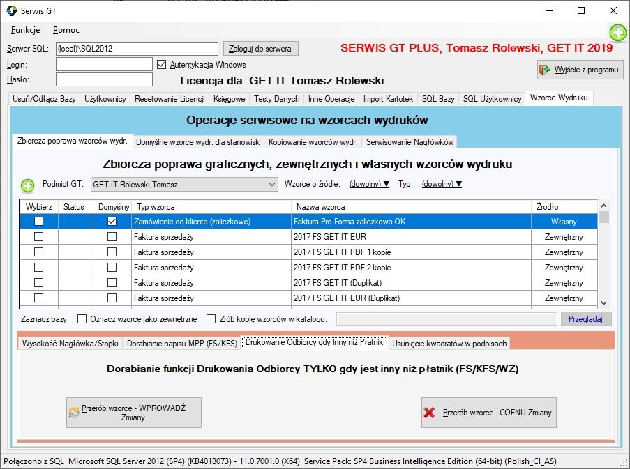 SerwisGT_Wzorce_Wydrukow_Odbiorca